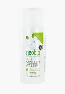 Мицеллярная вода Neobio 3 в 1, 150 мл