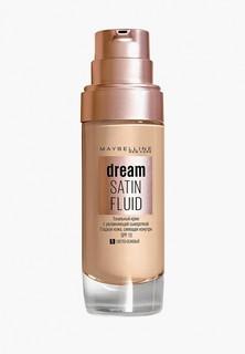 """Тональный крем Maybelline New York """"Dream Satin Fluid"""", оттенок 01, Светло-бежевый, 30 м"""