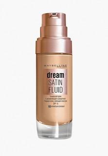 """Тональный крем Maybelline New York """"Dream Satin Fluid"""", оттенок 23, Карамельно-Бежевый, 30 м"""