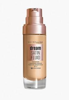 """Тональный крем Maybelline New York """"Dream Satin Fluid"""", оттенок 21, Золотисто-бежевый, 30 мл"""