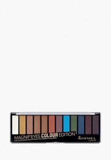 Палетка для глаз Rimmel Magnif`eyes Colour тон 004