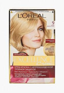 Краска для волос LOreal Paris LOreal Excellence, оттенок 9, Очень светло-русый