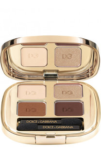 Тени для век Quad, оттенок 123 Desert Dolce & Gabbana