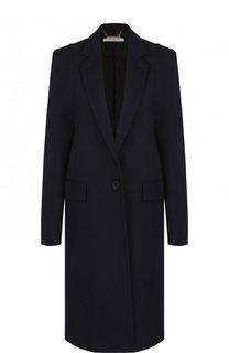Шерстяное пальто прямого кроя Givenchy