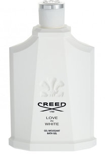 Гель для душа Love In White Creed