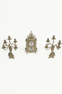 Набор: часы и 2 канделябра Stilars