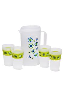 Набор: кувшин и 4 чашки DOSH I HOME