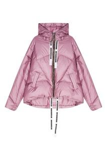 Фиолетовая зимняя куртка Khrisjoy