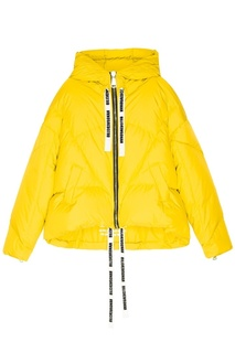 Желтая зимняя куртка Khrisjoy