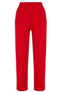 Красные брюки с цветными лампасами Acne Studios