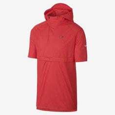 Мужская футбольная куртка с коротким рукавом и капюшоном Nike F.C.