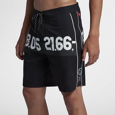 Мужские бордшорты Hurley JJF IV Parallel Sea 49 см Nike