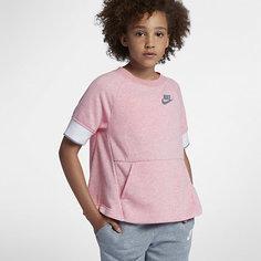 Свитшот с коротким рукавом для девочек школьного возраста Nike Sportswear