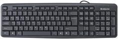 Клавиатура Defender Element HB-520 USB (черный)