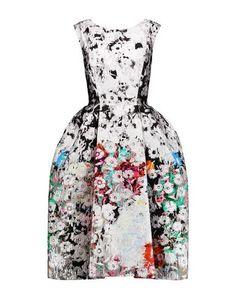 Платье до колена Oscar de la Renta