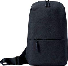 "Рюкзак XIAOMI Mi City Sling Bag 10"" полиэстер темно-серый [zjb4069gl]"