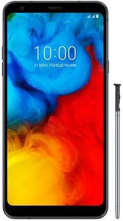 Смартфон LG Q Stylus+ Стилус, Q710, черный