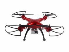 Квадрокоптер SYMA X8HG с камерой, красный