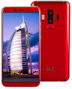 Смартфон ARK Elf S8 красный