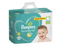Подгузники Pampers Active Baby-Dry Maxi 8-14кг 90шт 8001090459107