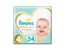 Подгузники Pampers Premium Care Maxi 9-14кг 54шт 8001090646569