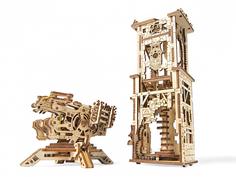 3D-пазл UGears Башня-Аркбалиста