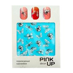 Наклейки для ногтей переводные PINK UP NAIL DESIGN тон 567