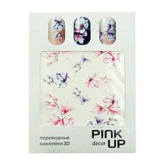 Наклейки для ногтей переводные PINK UP NAIL DESIGN тон 568