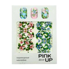 Наклейки для ногтей переводные PINK UP NAIL DESIGN тон 570