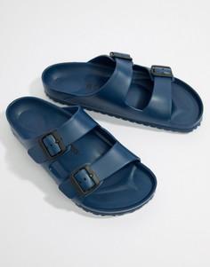 Темно-синие сандалии Birkenstock Arizona EVA - Темно-синий