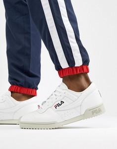 Белые кроссовки Fila Original Fitness - Белый