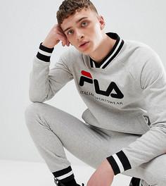 Fila retro track sweatshirt in grey - Серый