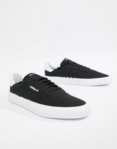 Черные кроссовки adidas Skateboarding 3MC B22706 - Черный