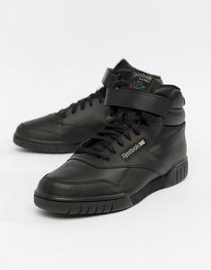 Черные высокие кроссовки Reebok Ex O Fit 3478 - Черный