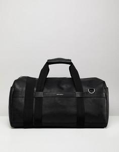 Черная сумка из искусственной кожи ASOS DESIGN - Черный