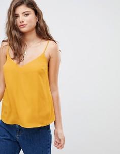Свободный топ ASOS DESIGN fuller bust - Желтый