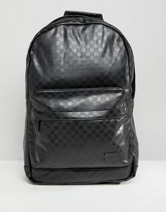 Черный рюкзак в клетку Spiral - Черный