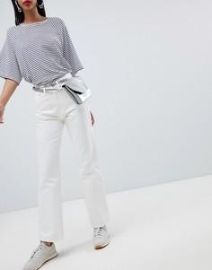 Свободные джинсы Weekday - Белый