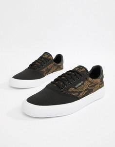 Черные кроссовки adidas Skateboarding 3MC B22708 - Черный