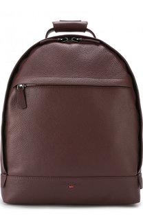 Кожаный рюкзак на молнии Santoni