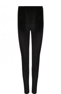 Однотонные бархатные брюки-скинни Tom Ford