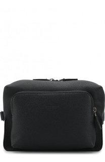 Кожаная поясная сумка Giorgio Armani