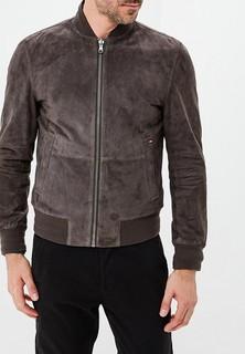 Куртка кожаная Tommy Hilfiger REVERSIBLE