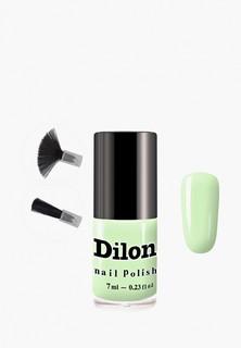 Лак для ногтей Dilon тон 2803, салатовый, 7 мл