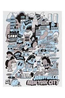 Постер New York City Jeremyville