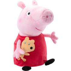Мягкая игрушка Росмэн Пеппа с игрушкой, 40см (31157)