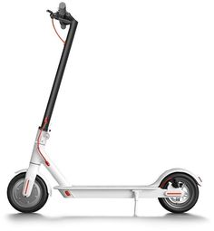 Электросамокат XIAOMI Mijia Electric Scooter M365, 7800mAh, белый [fbc4003gl]