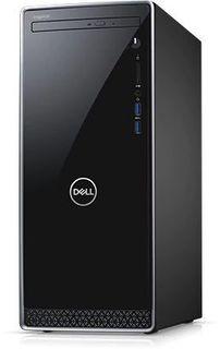 Компьютер DELL Inspiron 3670, Intel Core i7 8700, DDR4 8Гб, 1000Гб, 128Гб(SSD), NVIDIA GeForce GTX 1050Ti - 4096 Мб, DVD-RW, Linux, черный [3670-6603]