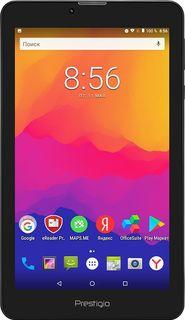 Планшет PRESTIGIO Wize 1177 4G, 1GB, 8GB, 3G, 4G, Android 7.0 черный [pmt1177_4g_c_cis]