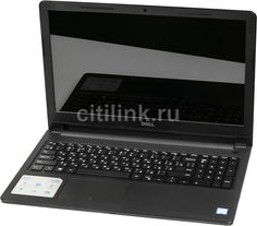 "Ноутбук DELL Inspiron 3567, 15.6"", Intel Core i3 6006U 2.0ГГц, 4Гб, 500Гб, Intel HD Graphics 520, DVD-RW, Windows 10, 3567-7992, черный"